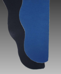 Parti-Color Tights - Royal Blue/Black<br>39-42w x 30i