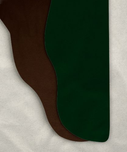 Two Color Tights - Brown/Hunter Green<br>28-33w x 30i