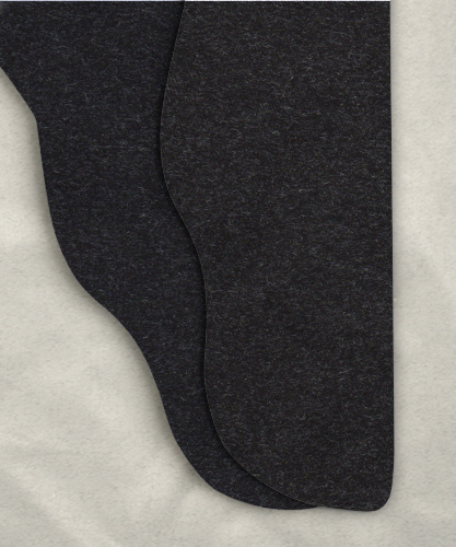 Single Color Tights - Heather Gray<br>43-48w x 32i
