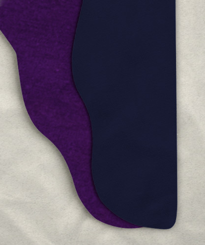 Two Color Tights - Purple/Gray-Blue<br>33w x 31i