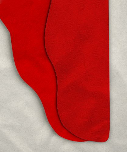 "Single Color Tights - Red - 39-42w x 30""i"