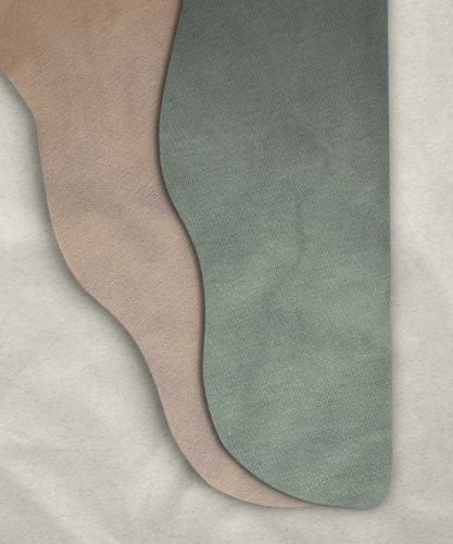 Two Color Tights: Lt. Sage Green/Camel 28 x 28
