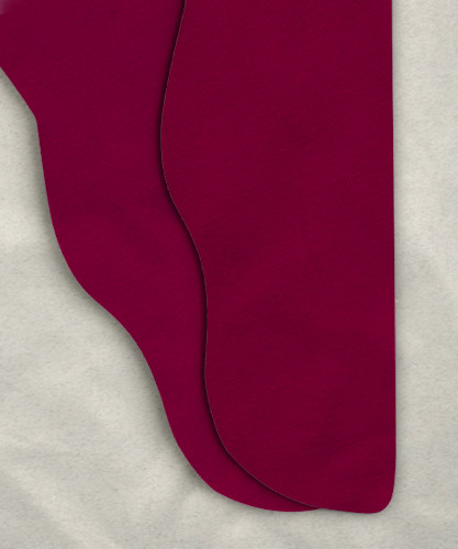 Single Color Tights - Wine 38-33w x 30""